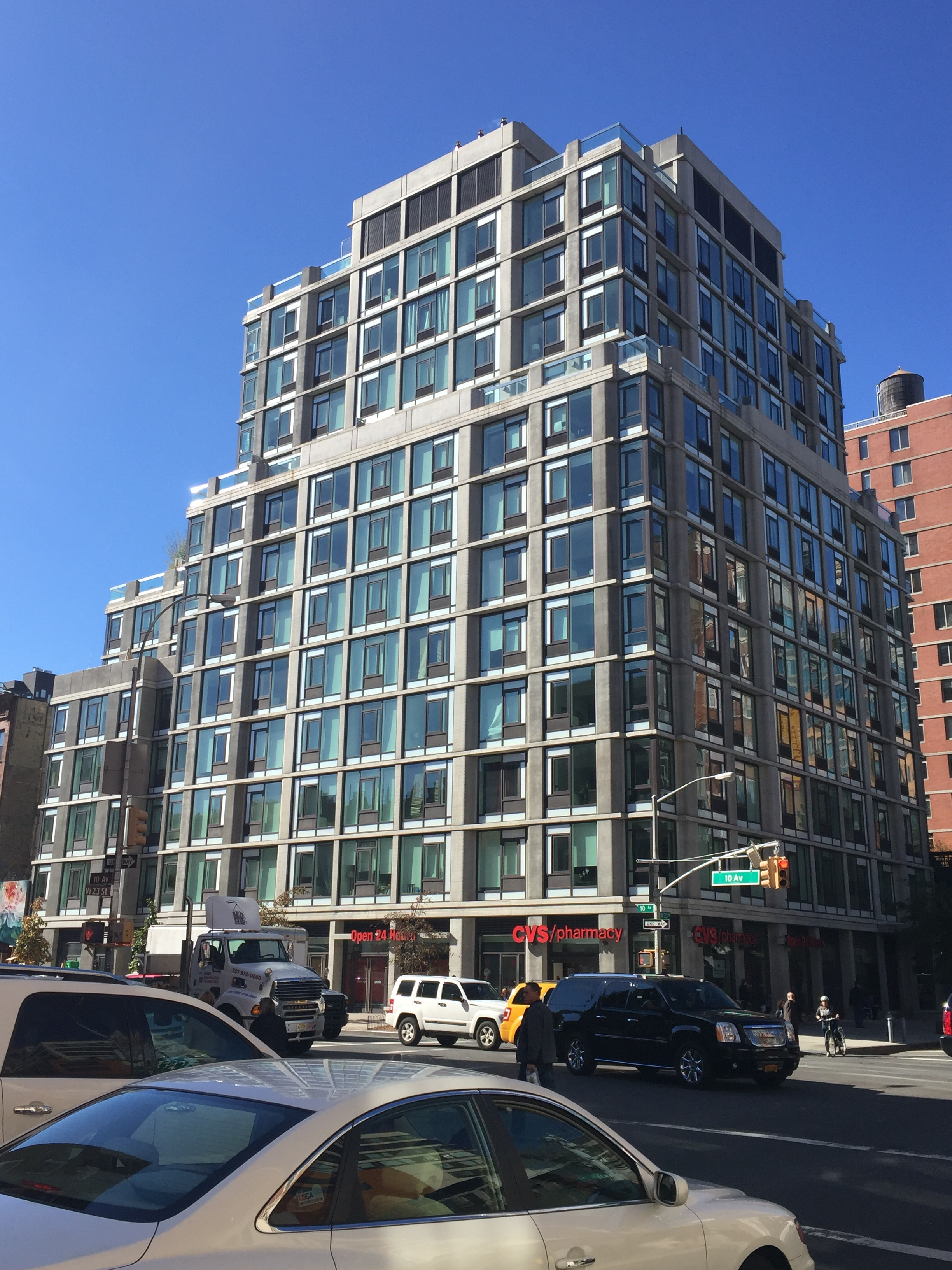 New Apartment Building. 500 West 23rd Street